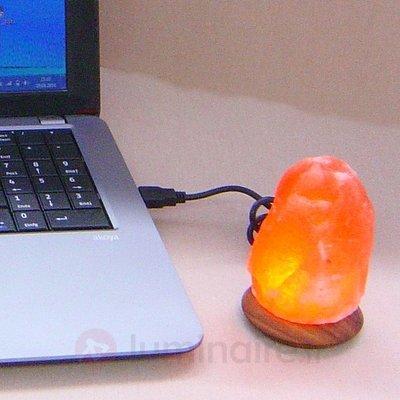Lampe de sel COMPUS avec branchement USB - Lampes de sel