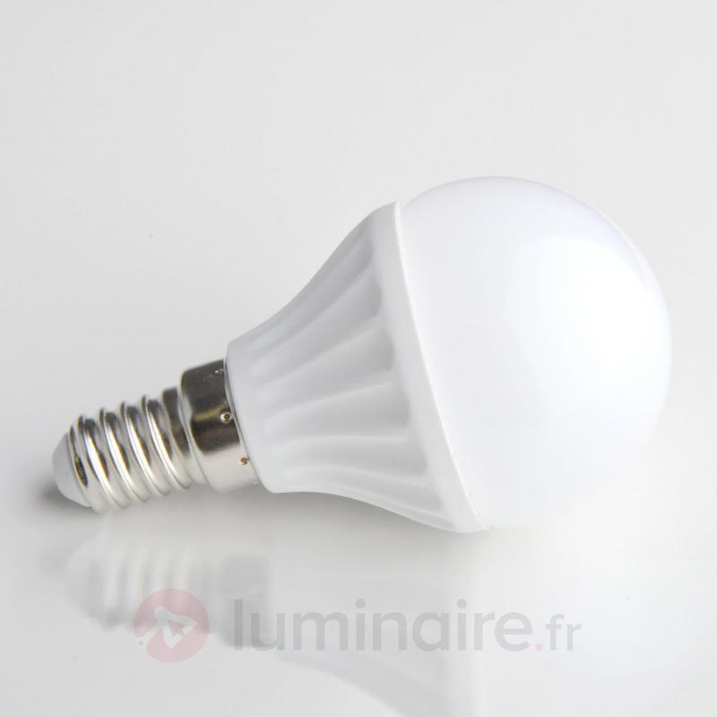 Ampoule LED goutte E14 4W 830 mate - Ampoules LED E14