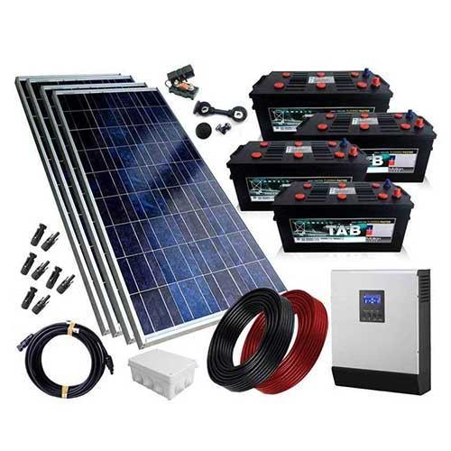Kits solares - Kits Solares Conexión Aislada