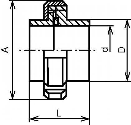 RACCORD COMPLET À SOUDER INOX 304 - 316 L (61111)