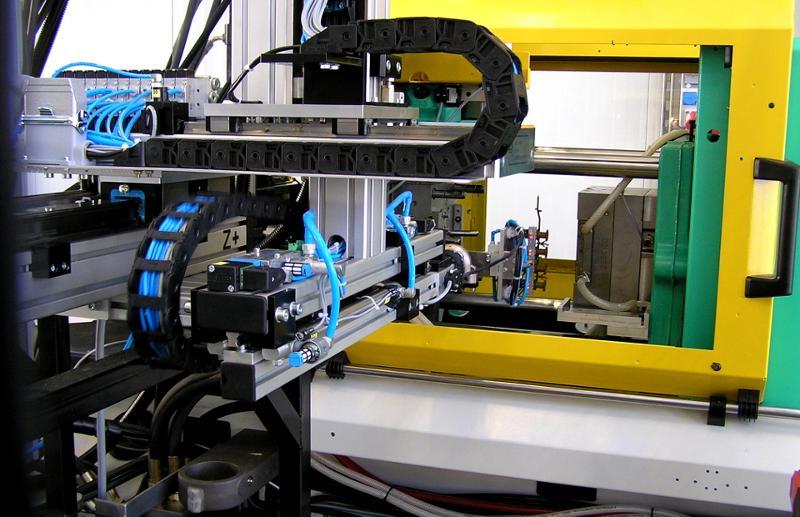 CNC-Standardhandlings, seitliche Entnahme, Montage auf... - null