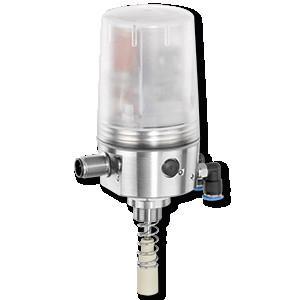 GEMÜ 4242 - Caixa de interruptores eletropneumática com válvula piloto integrada de 3/2 vias