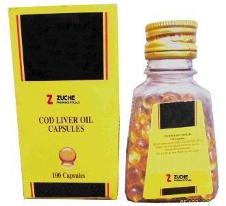 Cod Liver Oil Softgel Capsules - Cod Liver Oil Softgel Capsules