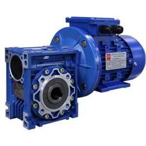 Worm geared motors - UD-RV single-reduction worm geared motors (NMRV alternative)