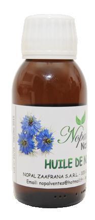 Huile de graines de Nigelle tunisienne - 100 % pure et naturelle, EAN: 6192464800358