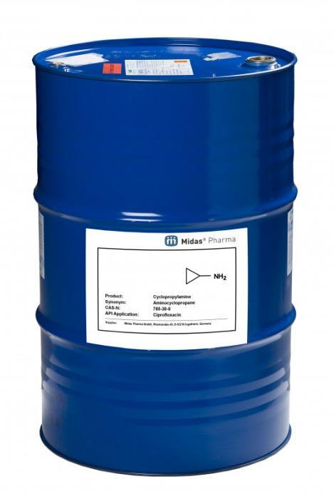 Cyclopropylamin - Cyclopropylamin; CAS 765-30-0; Zwischenprodukt für Pharma und Dufstsoffe