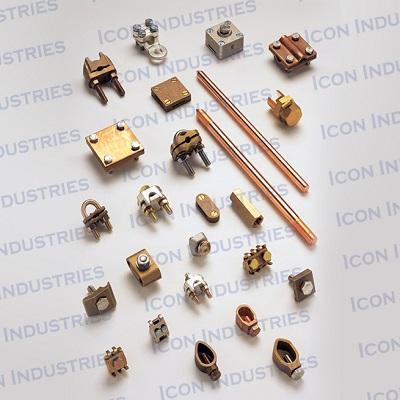 Brass Clamp and Connector 2 - Brass Clamp and Connector 2