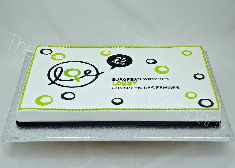 Gâteaux et Pièces Montées sur-mesure - Gâteau logo Association Européenne