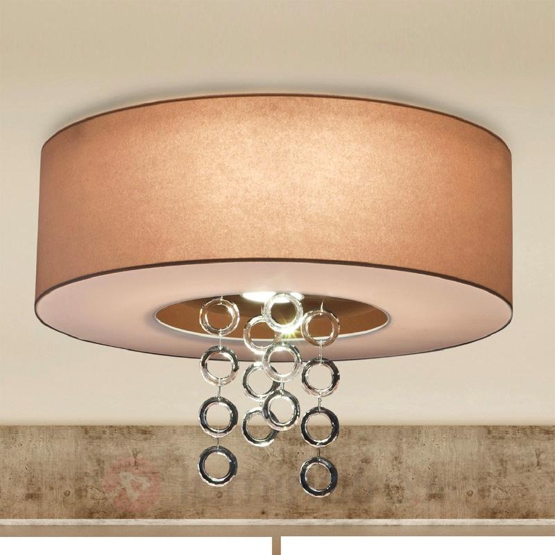 Plafonnier Ikarus avec anneaux de cristal de plomb - Tous les plafonniers