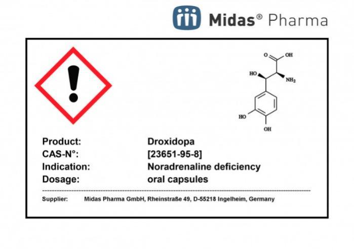 Droxidopa - Droxidopa; 23651-95-8; L-Dops
