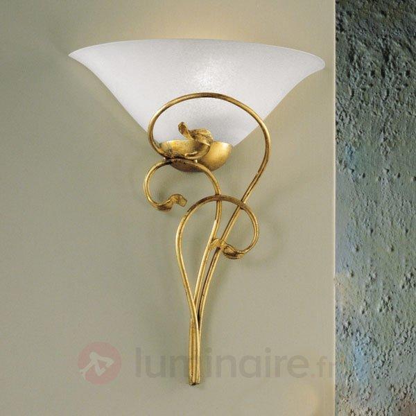 Applique design spéciale, dorée antique - Appliques en laiton/dorées