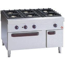 GAMME DELTA 1100 - GAS COOKING RANGE