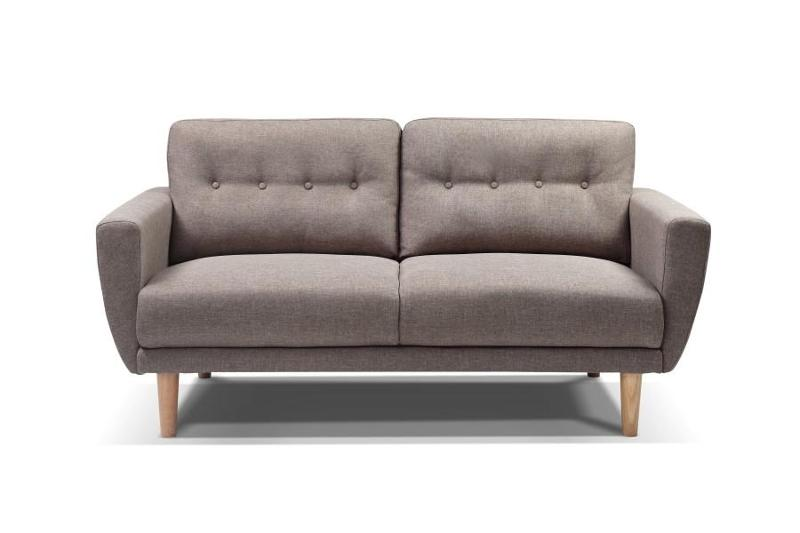 Canapé scandinave taupe 459 € - ISABELLE