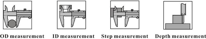 Screw type vernier caliper - MEASURING INSTRUMENTS