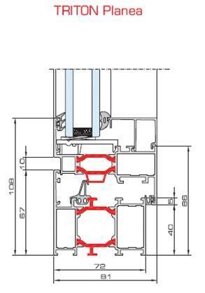 window-and-door-systems blyweert-aluminium triton - aluminium-joinery