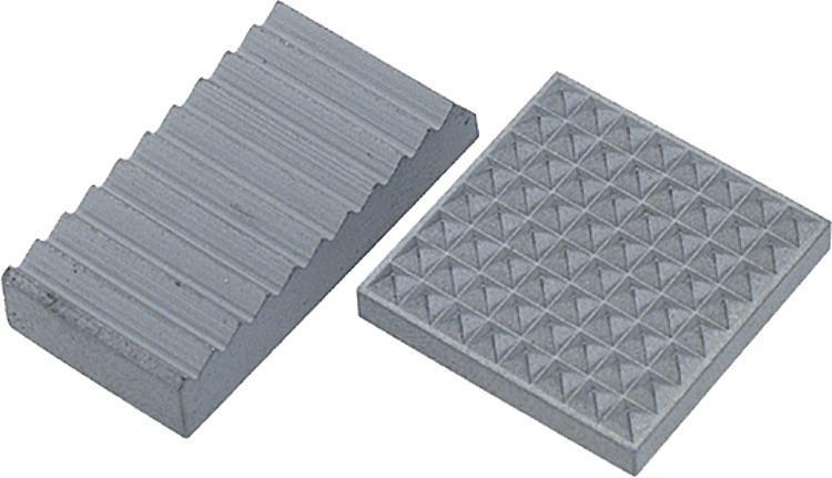 Insert carré ou rectangulaire en carbure - Vis à bille orientable et inserts à picots
