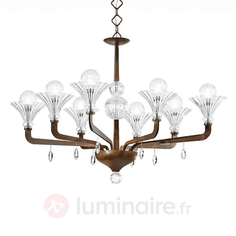 Magnifique lustre SUPREME à 8 lampes - Lustres designs, de style