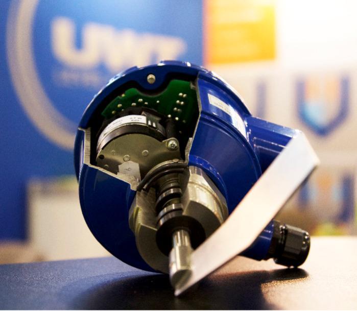 Rotonivo® RN 3000 - Interrupteur à aile tournante - Pour la mesure de niveau - Détecteur de plein, de besoin et de vide