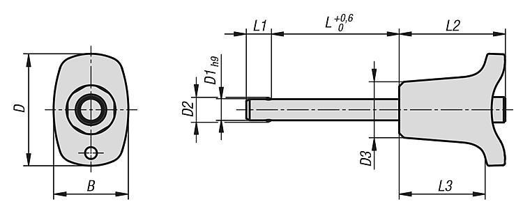 Flexibles Normteilesystem - Kugelsperrbolzen selbstsichernd