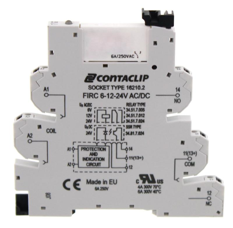 FIRCU 1/24V AC/DC   Kompaktes Interface-Relais (IRC)  - null