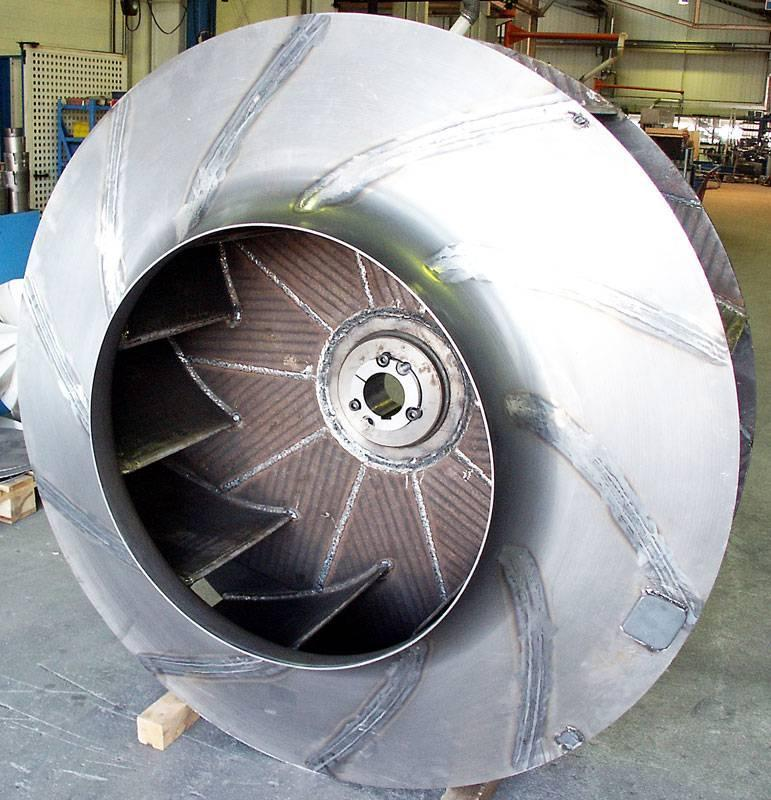 industrial-fans - Wear-protected