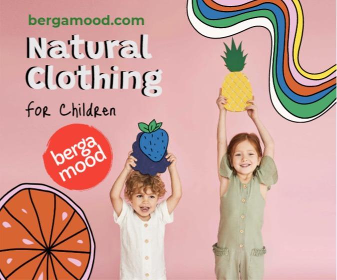 Doğal Ürünlerden Çocuk Giyimi - Doğal Ürünler