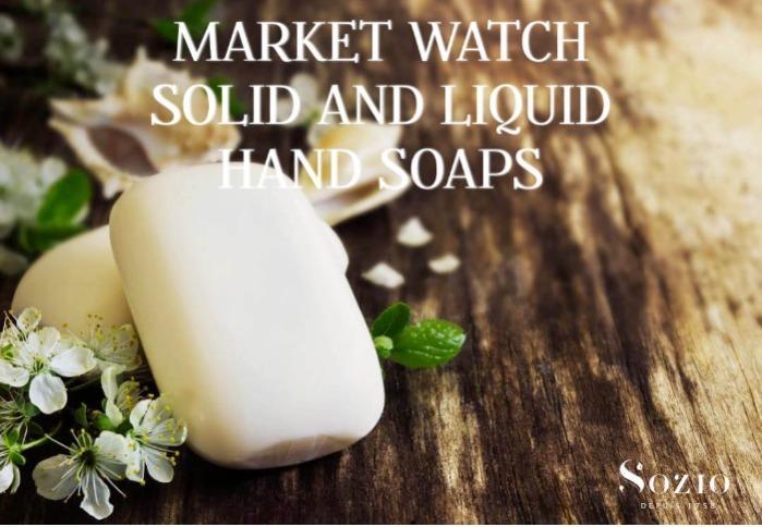 Compositions parfumées pour soins corporels - Savons liquides et solides pour les mains