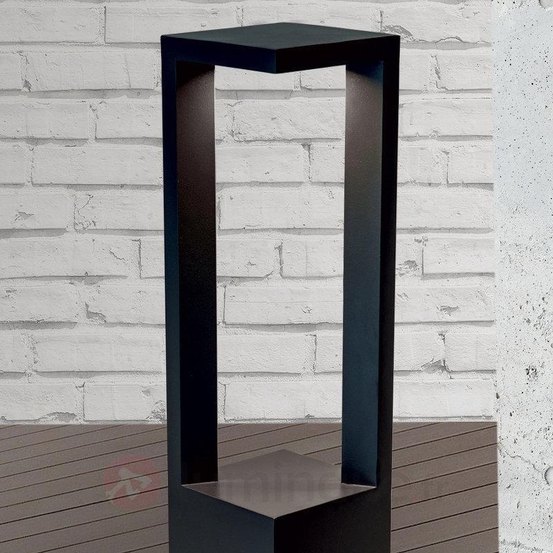 Borne lumineuse LED Asha carrée - Bornes lumineuses LED