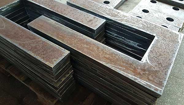 Plasmaskjæring, format opp til 6000 x 2000 mm, arktykkelse o -