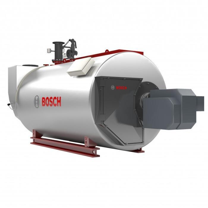 Bosch Caldera de agua sobrecalentada Unimat UT-H - Bosch Técnica de calderas pirotubulares de tres pasos y un hogar interior