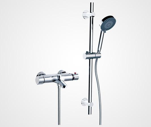 Thermostatic shower mixer - British Faucet