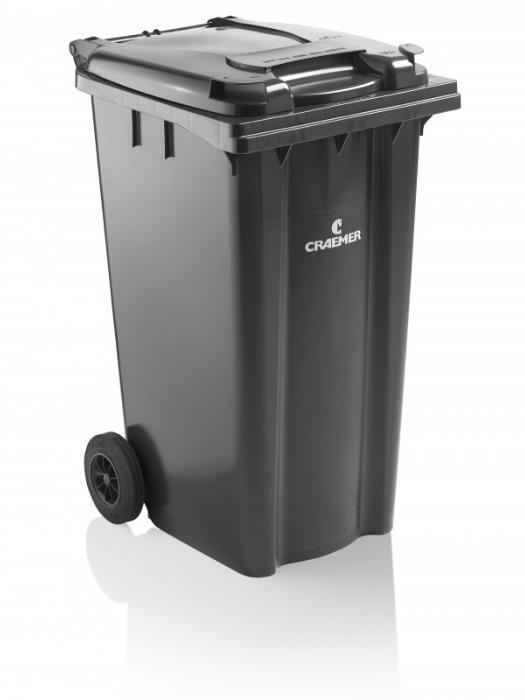 Conteneurs à déchets MGBplus 120 l, 140 l, 180 l, 240 l - Conteneurs à déchets, HPDE, DIN EN 840, RAL-GZ951/1 (GGAWB), 2000/14/EG, MGBplus
