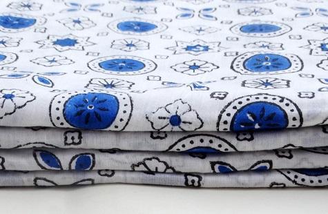 Hand Block Print Fabric - Hand Block Print