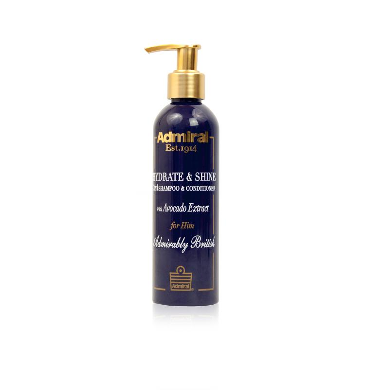 Hydrate&Shine 2 in 1 Shampoo & Conditioner with...