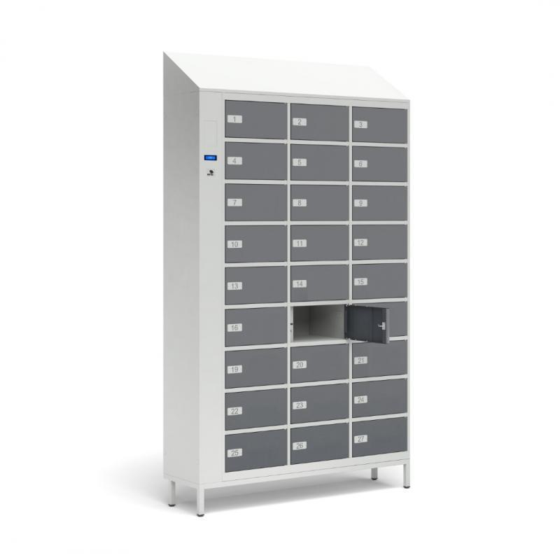 TECHCODE RFID FOOD LOCKERS - Remotely controlled cabinets with access control