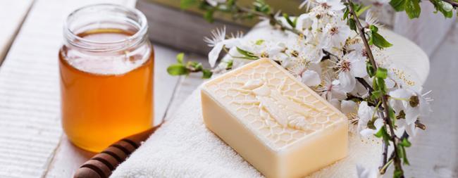 Savons à base de miel