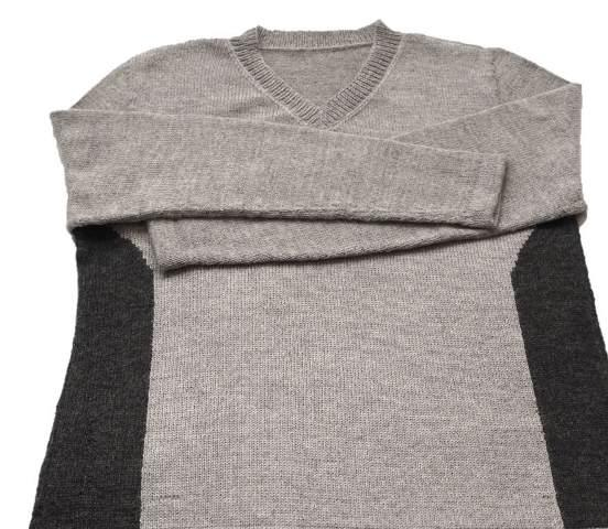 100% Alpaca (Super Fine) Sweater - 19N012C