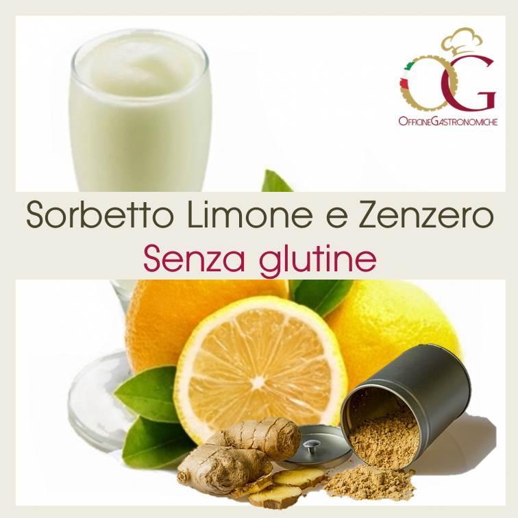 Sorbetto al Limone e Zenzero - prodotto per granitore