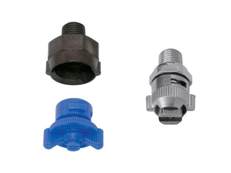 INVV series – Quick-detachable standard flat spray nozzle - Hydraulic nozzles – Flat Spray Pattern