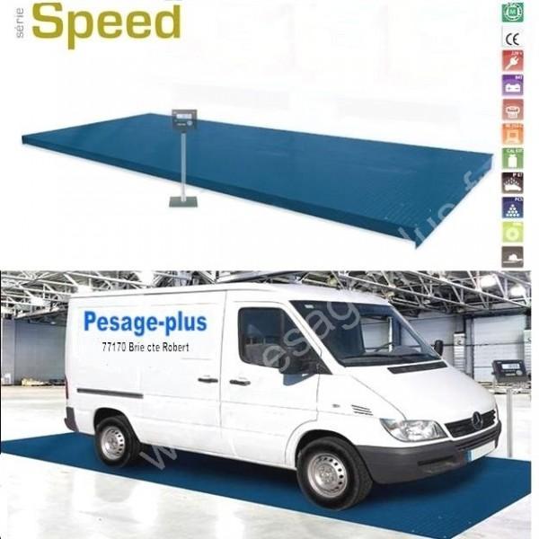 Pont de pesage véhicule - Balances au sol (ACIER et INOX)