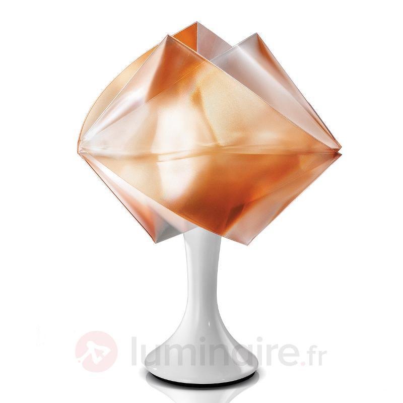 Lampe à poser Gemmy Prisma, ambre - Lampes à poser designs