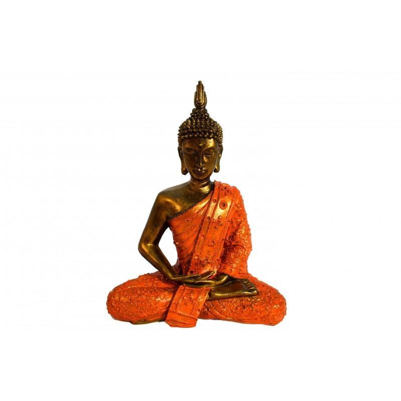 Buda Thai En Posición De Meditación 30cm (precio Por Unidad) - Budas y Ganeshas
