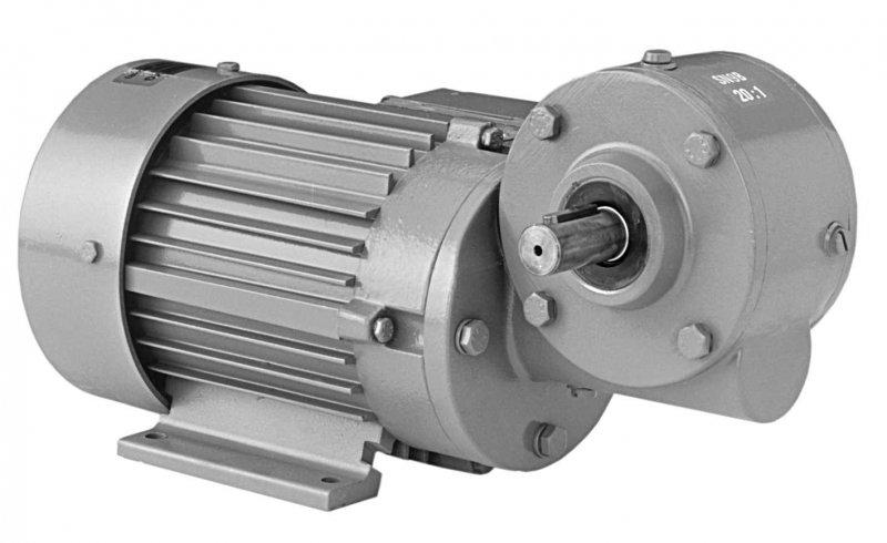 SN9B - Single-stage gear drive with solid shaft