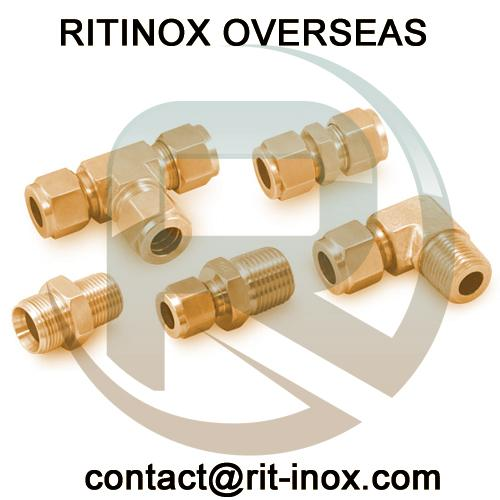 Brass Hex Plug -