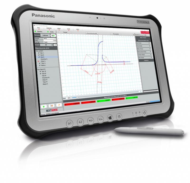 间隙和面差测量仪 CALIPRI C14 - 手持式间隙和面差测量系统