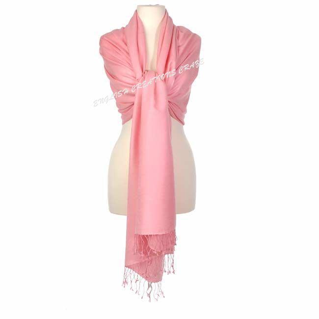 Cashmere Solid Color Shawls - Cashmere Solid Color Shawls