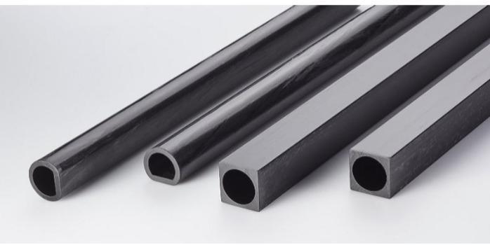 Carbon Fiber Square Tube - Carbon Fiber Square Tube 30 x 30 int. Ø 25 mm