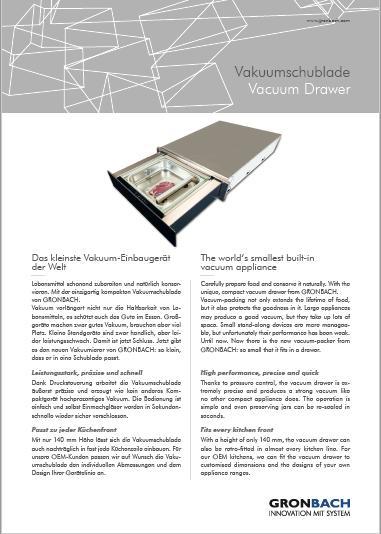 Vacuum Drawers - oem appliances