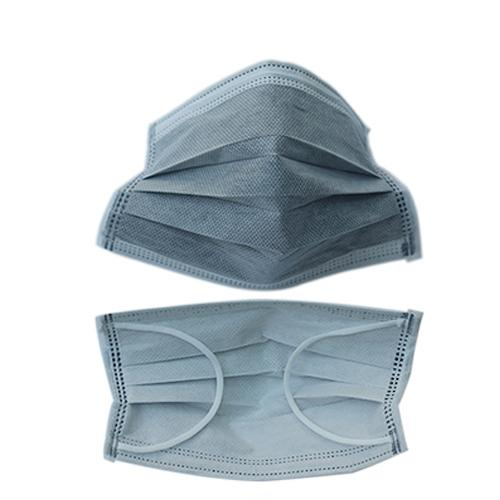 Non-woven activated carbon mask