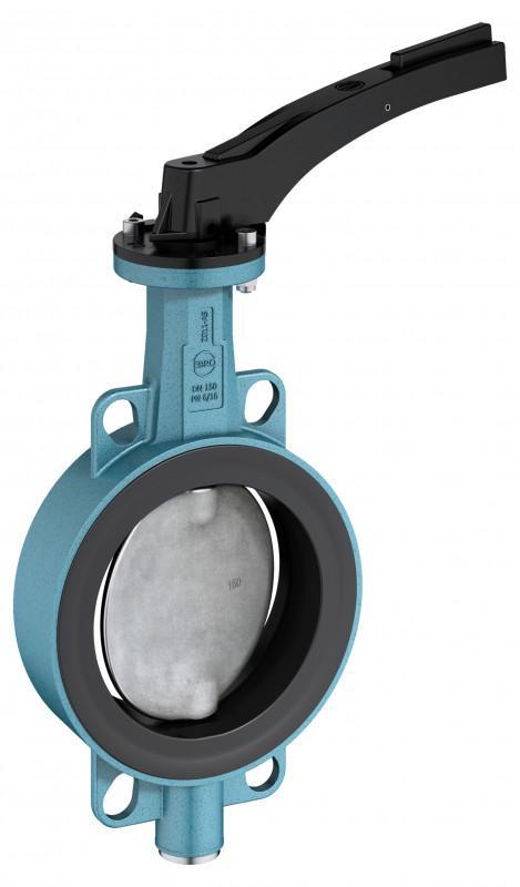 Vanne d'arrêt et de contrôle type Z 011-AS - Vanne d'arrêt et de contrôle avec boîtier en aluminium pour tubes en plastique.